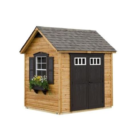 Suncast Shed Home Depot by Suncast Legacy 6 Ft X 8 Ft Garden Shed Discontinued