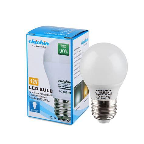 3 watt led chichinlighting 12 volt 7 watt led light bulb 3 bulbs per pack e26 e27 light 711301424937 ebay