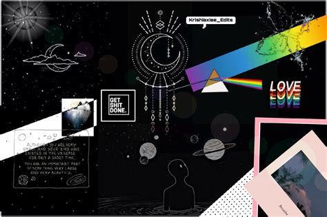 black aesthetic laptop background wallpaper