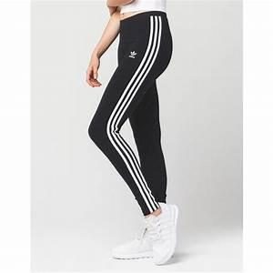 Adidas 3 Stripes Womens Leggings ($35) liked on Polyvore ...