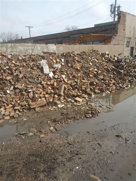 brick  mortar mix  landfill bring  truck