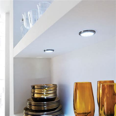 cabinet lighting hafele luminoso 12v led circle light
