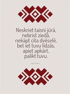 Latvian quote. ... Lithuanian Love Quotes