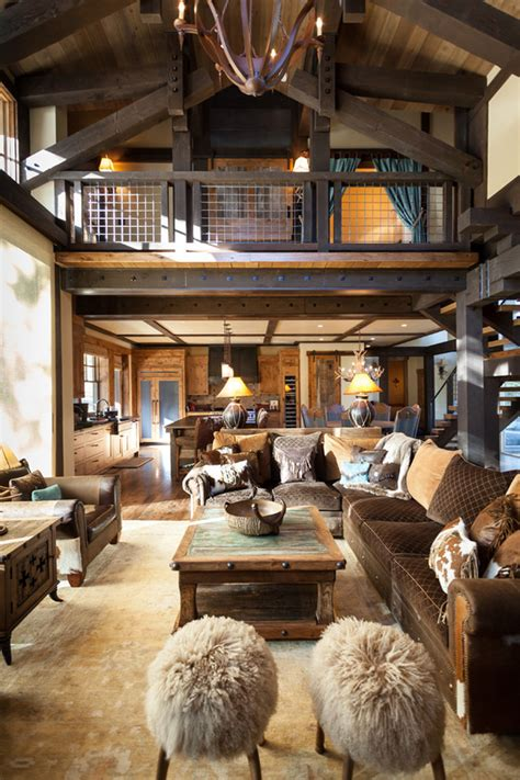 blending texas style  mountain rustic  tahoe austin