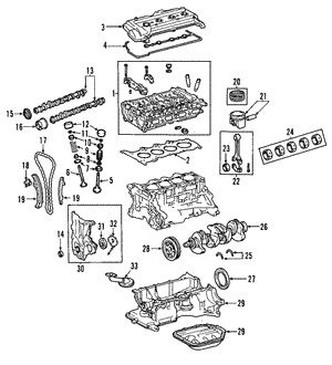 2010 Priu Engine Diagram by Mounts For 2008 Toyota Prius Toyota Express Parts