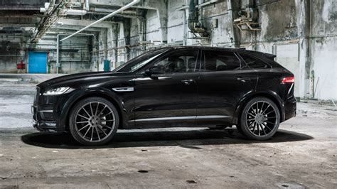 jaguar  pace widebody hamann tuning