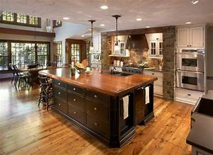 Rustic & Stone Two Tone - Traditional - Kitchen