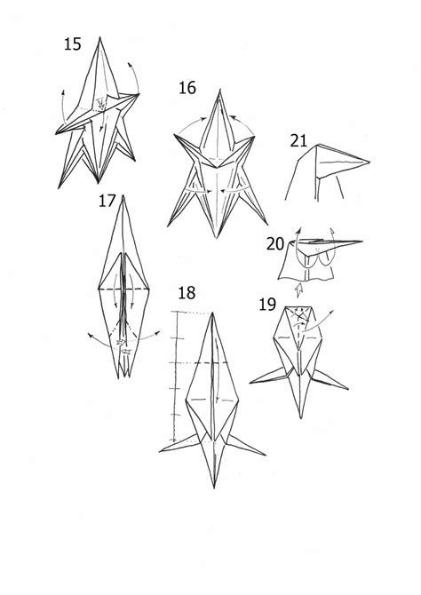 horse origami diagram paper origami guide