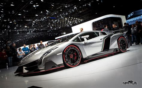2013 Lamborghini Supercar Supercars Veneno Concept Car