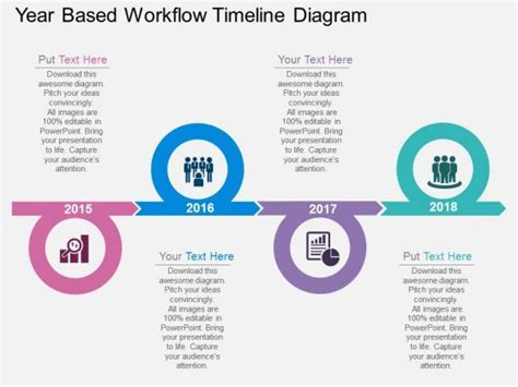 powerpoint workflow template ppt study presentation discussion