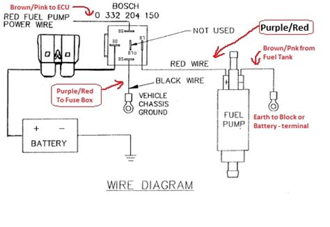 Fuel Pump Wiring Diagram Electrical Website Kanri Info