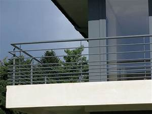 ferronnerie du batiment garde corps balcon terrasse With garde corps inox terrasse