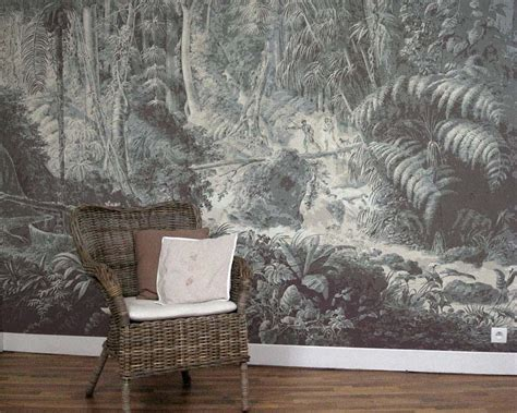 scenic wallpaper brasilian rainforest papiers de paris
