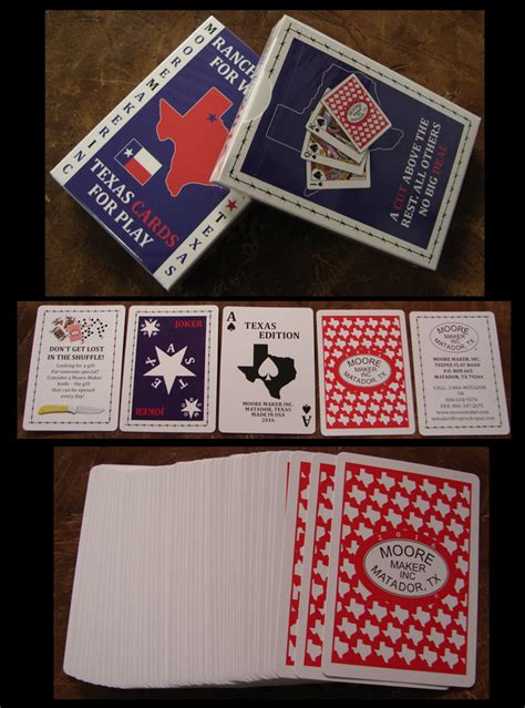 moore maker playing cards