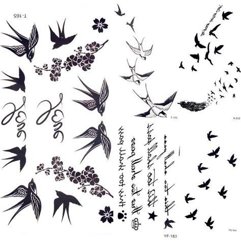 morceaux mignon hirondelle oiseau plume temporaire