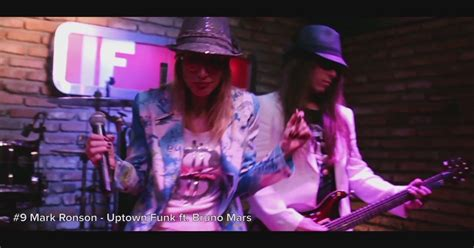 Mark Ronson Uptown Funk Ft Bruno Mars Rock Cover