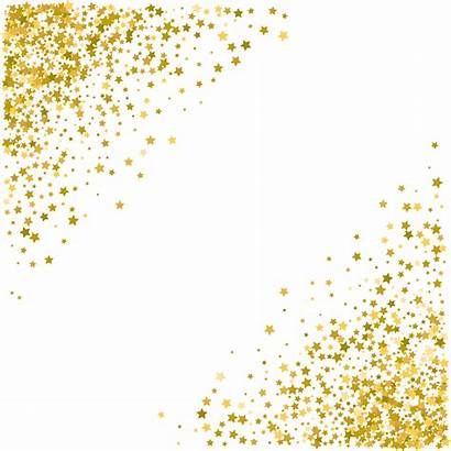 Transparent Stars Clipart Decoration Glitter Clip Border