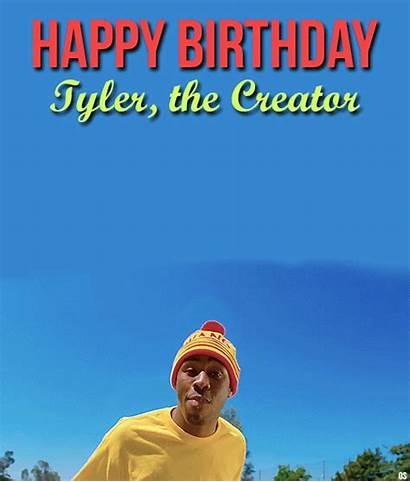 Tyler Golf Creator Odd Future Birthday Happy
