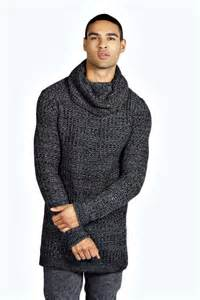 slim fit turtle neck top mens cowl neck sweater fashion skirts
