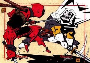 Deadpool VS Taskmaster by soliton on DeviantArt