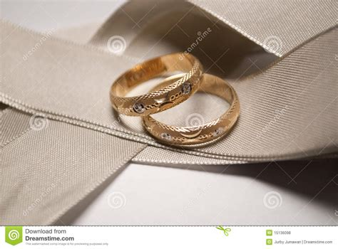 gold wedding ring with white gold design stock of vows commitment 15136098