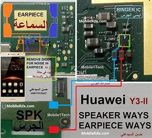 Huawei Y3ii Speaker Ways Earpiece Jumper Solution