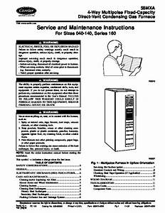Carrier 58mxa 9sm Gas Furnace Owners Manual