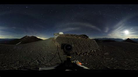 ricoh theta sstarry night   time lapse youtube