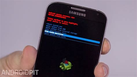 clear cache android samsung galaxy how to clear the cache on galaxy s4 androidpit