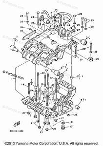 Yamaha Atv 2005 Oem Parts Diagram For Crankcase