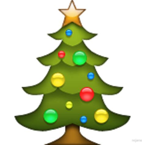 quot christmas tree emoji quot by nojams redbubble