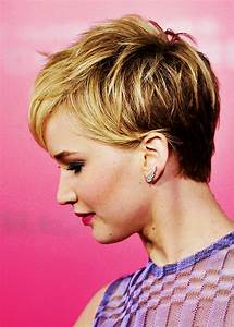 jennifer lawrence pixie cut back view Quotes
