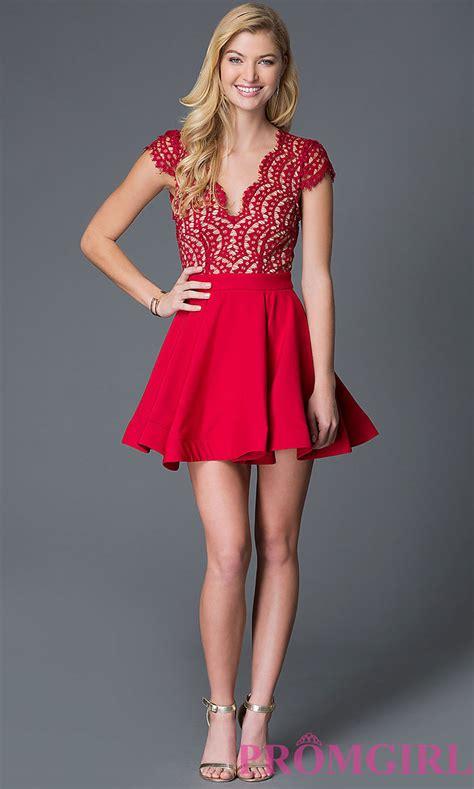 vestidos cortos  fiesta en color rojo vestidos glam