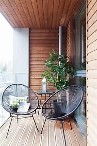 Cool, Small, Balcony, Design, Ideas