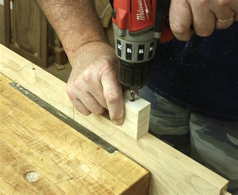 drill holes straight square popular woodworking magazine
