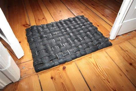 recycled tire doormat handamade upcycled recycled tyre tire door mat by tirebelt