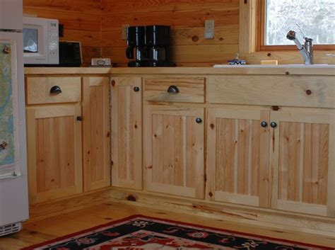rustic knotty pine kitchen cabinets best 16 knotty pine cabinets kitchen ideas on