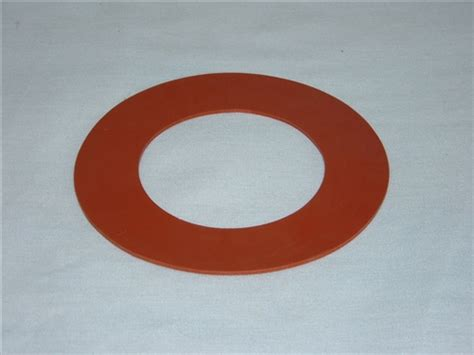 Silicone Small Flange Ring Gasket