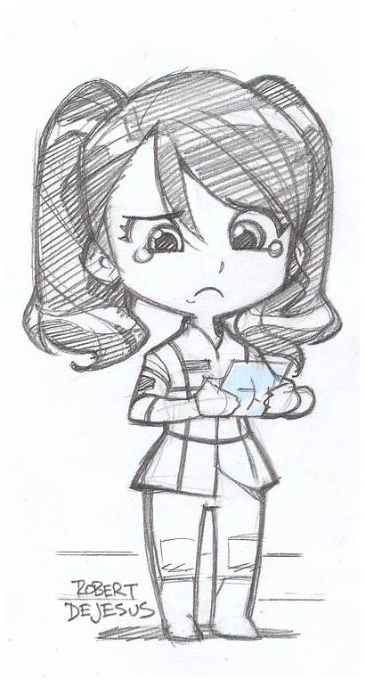 Tina Drawing Space Sketches Drawings Anime Cartoon