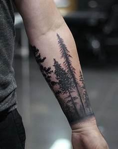 Tattoo Avant Bras : best 25 forest tattoo sleeve ideas on pinterest tree ~ Melissatoandfro.com Idées de Décoration