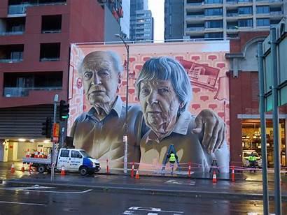 Melbourne Smug Street Grandparents Streetart Streetartnews