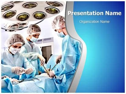 surgery room medical powerpoint template  medical