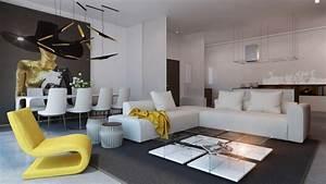 Grau Weiße Couch : wei e wohnzimmerm bel 50 moderne einrichtungsideen ~ Michelbontemps.com Haus und Dekorationen