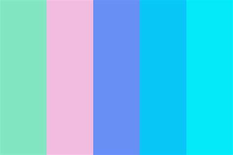 Cool Colour by 80s Cool Color Palette