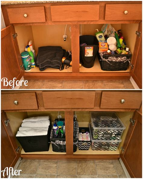 bathroom sink organizer ideas how to organize your bathroom cabinet great tips for