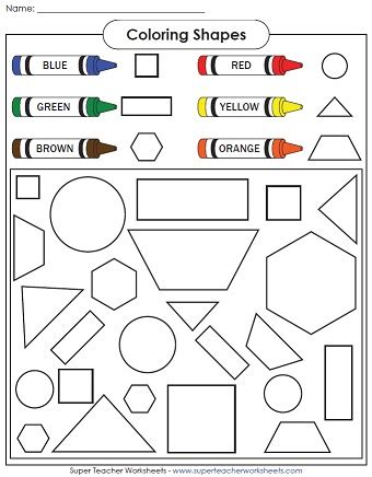 a shape coloring page 900   coloring shapes