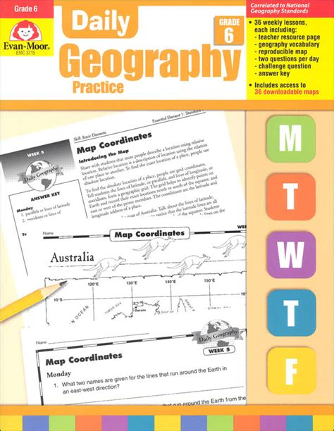 Daily Geography Practice Gr 6 (033539) Details  Rainbow Resource Center, Inc