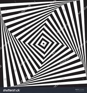 Optical Illusion Art Circle Vector Background Stock Vector ...