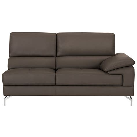 chaise microfibre city furniture dash dk gray microfiber left chaise sectional