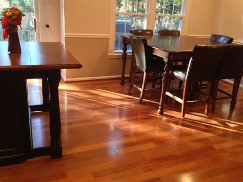 koa flooring with cherry cabinets bellawood cherry hardwood flooring other